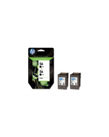INK JET HP ORIG. C9502A 56A DOBLE