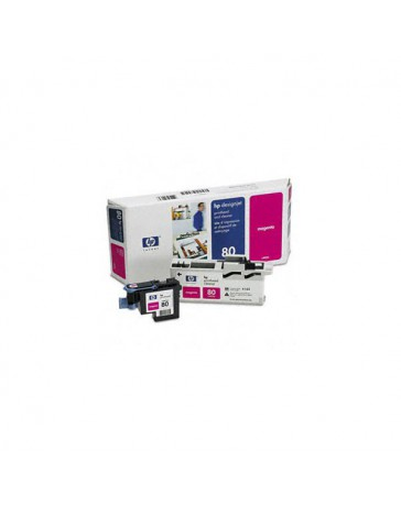 INK JET HP ORIG. C4822A Nº80 KIT MAG