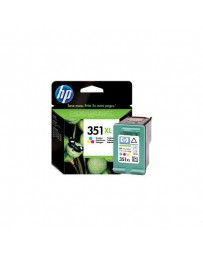 INK JET HP ORIG. CB338EE COLOR Nº351 XL
