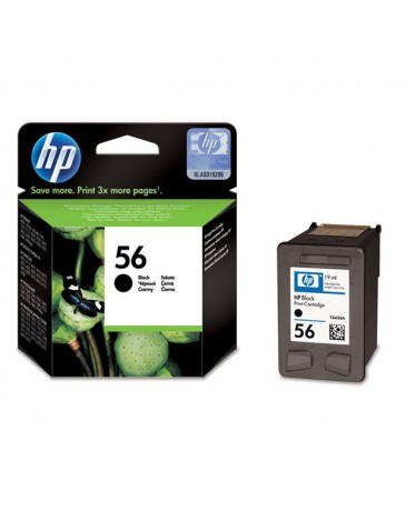INK JET HP ORIG. C6656A Nº56 NEGRO