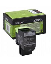 TONER LEXMARK ORIG.CX310/410/510 NEGRO 2.000 PAG.