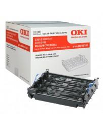 DRUM OKI ORIG. C301/321/C531 BK/C/M/Y 44968301