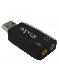 ADAPT.SONIDO APPROX USB 5.1 APPUSB51