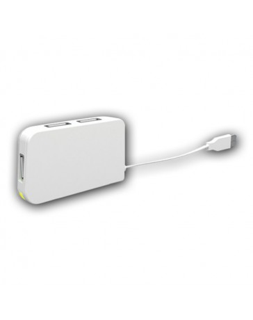 HUB APPROX TRAVEL 4 PORT USB BLANCO APPHT4W