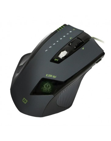 RATON KEEP OUT OPTICAL GAMING 8200DPI/11B. X9*
