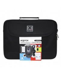 "MALETIN APPROX 15,6""+RATON USB APPNBBUNLE2"