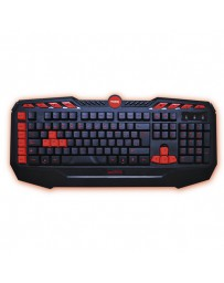 TECLADO APPROX GAME WIRED NEGRO/ROJO APPDROID