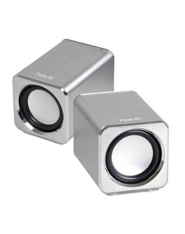 ALTAVOCES HAVIT HV-A6000 PLATA 2.0 USB