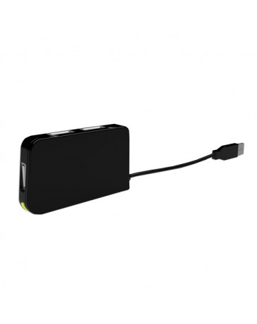 HUB APPROX TRAVEL 4 PORT USB NEGRO APPHT4BK