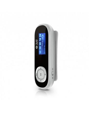 MP3 SPC CLIP PEDOMETER 8GB CLIP DEPORTIVO NEGRO