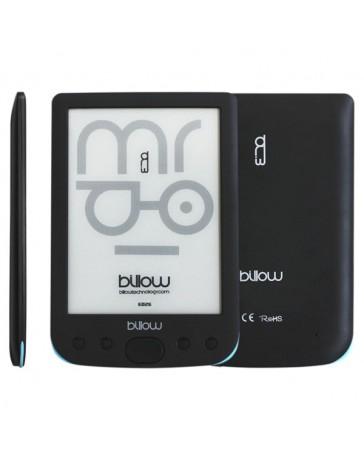 """E-BOOK BILLOW TINTA ELEC. 6"""" 4GB NEGRO E02E"""