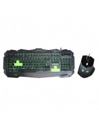 TECLADO KEEP OUT GAMING F80S+ RATON X2 PACK