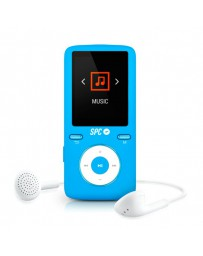 MP4 SPC PURE 8GB RADIO FM/ LEC.TAR./EXTRAFINO 8488A AZUL