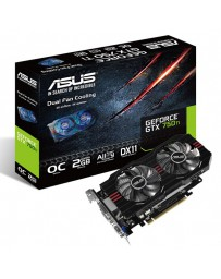 VGA ASUS NVIDIA GEFORCE GTX 750 TI 2GB DDR5 *