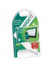 SOFTWARE KASPERSKY ANTIVIRUS 2 USERS ANDROID 2014*