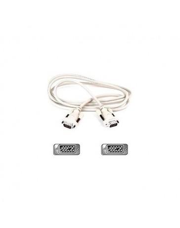 CABLE MONITOR VGA DB15M/DB15M 2 METROS B27