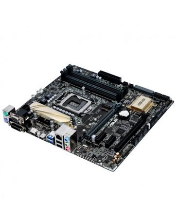 PLACA BASE ASUS INTEL H170M-PLUS 1151 DDR4 64GB VGA+DVI