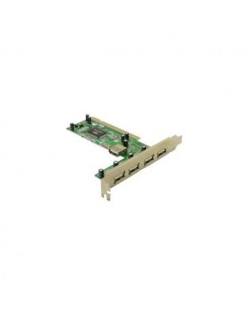 TARJETA PCI 4 PUERTOS USB 2.0 VIA 6212