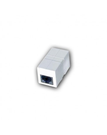 ADAPTADOR RJ45H/RJ45H CAT.5 WHITE
