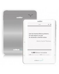 "E-BOOK WOLDER MIBUK INSPIRE TINTA ELEC.6""/WIFI/TACTIL"