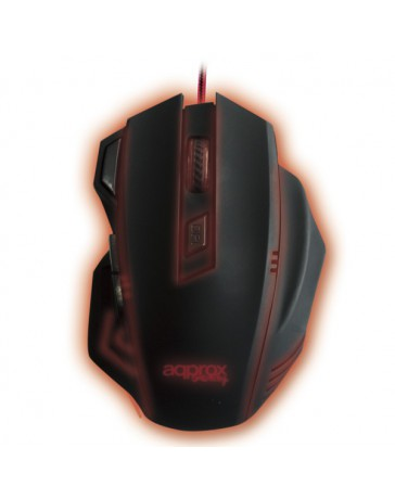 RATON APPROX GAMING WIRED APPSLAYER NEGRO