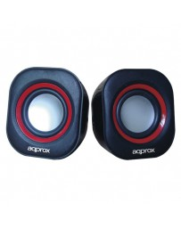 ALTAVOCES APPROX MULTIMEDIA 6W NEGRO APPSPA01