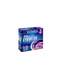 DVD-R VERBATIM 8CM SLIM CASE C/5