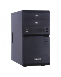 CAJA SEMITORE APPROX NEWTON M-ATX APPGXM002 S/F NEGRA