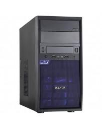 CAJA SEMITORRE APPROX EDISON M-ATX APPGXM016 S/F NEGRA