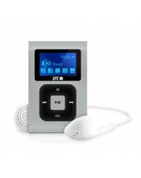 MP3 SPC CLIP EXTREME 8GB GRAN PANTALLA RADIO FM 8648S PLATA