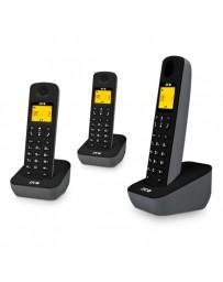 TELEFONO SPC AIR INALAMBRICO TRIO 7283N NEGRO