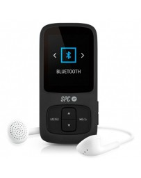 "MP4 SPC PURE SOUND BLUETOOTH 8GB FM 1.8"" MICRO SD NEGRO"