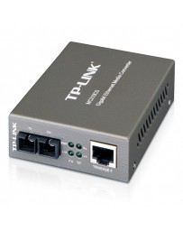 CONVER.TP-LINK 10/100/1000 RJ45/ FIBRA MONO MC210CS